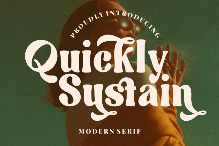 Preview image of Quickly Sustain Modern Serif