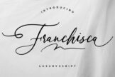 Last preview image of Franchisca Luxury Script