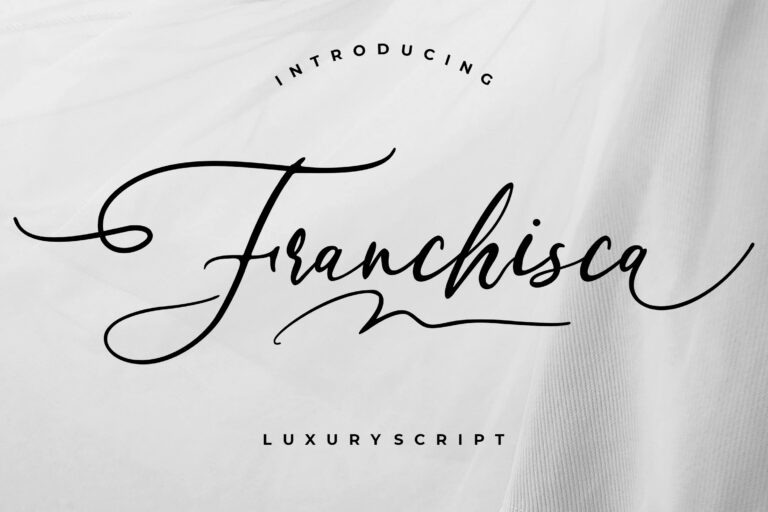 Preview image of Franchisca Luxury Script