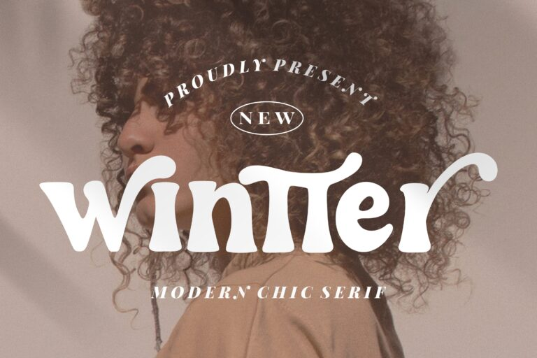 Preview image of Wintter Modern Chic Serif