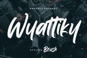 Wyattiky Stylish Brush