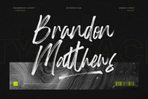 Brandon Matthews Handbrush Script