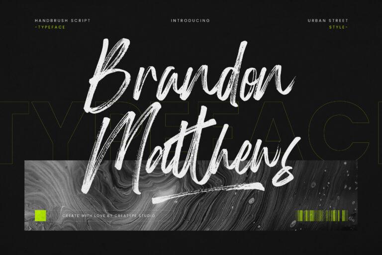 Preview image of Brandon Matthews Handbrush Script