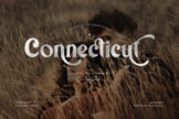 Last preview image of Connecticut Modern Vintage Typeface