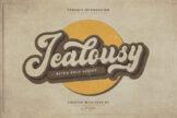 Last preview image of Jealousy Retro Bold Script