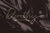Last preview image of Dorothy Handwritten Script