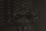 Last preview image of Lord of Scotland Monoline Signature