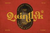 Last preview image of Quinlliyk Retro Serif