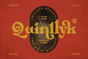 Quinlliyk Retro Serif
