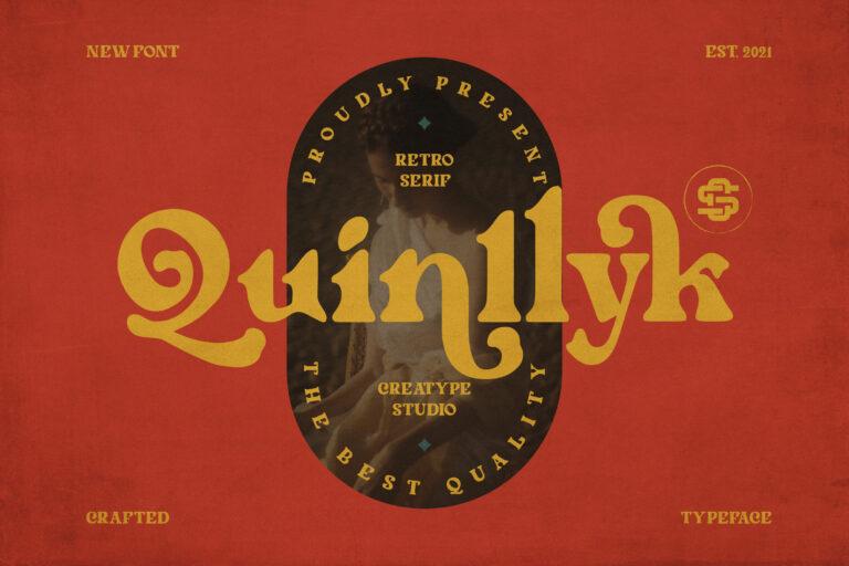Preview image of Quinlliyk Retro Serif