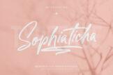 Last preview image of Sophiaticha Handwritten Brush