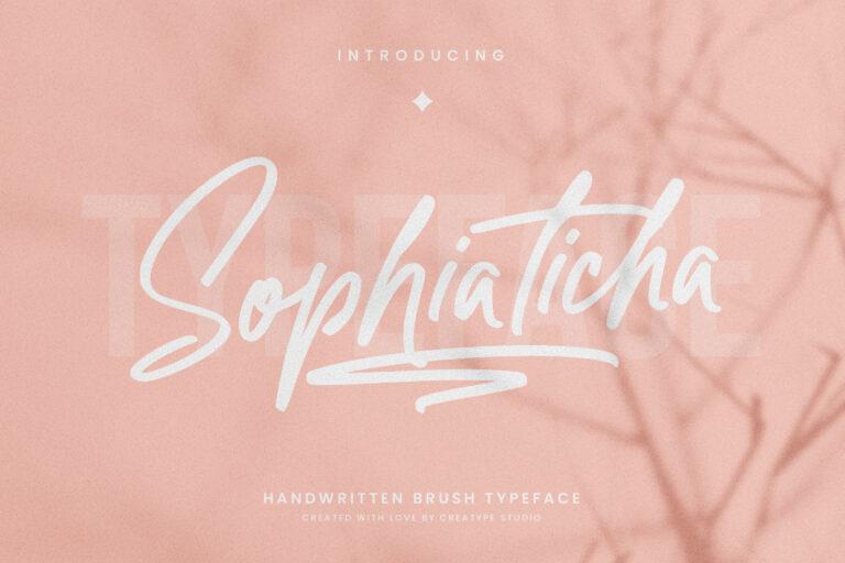 Preview image of Sophiaticha Handwritten Brush