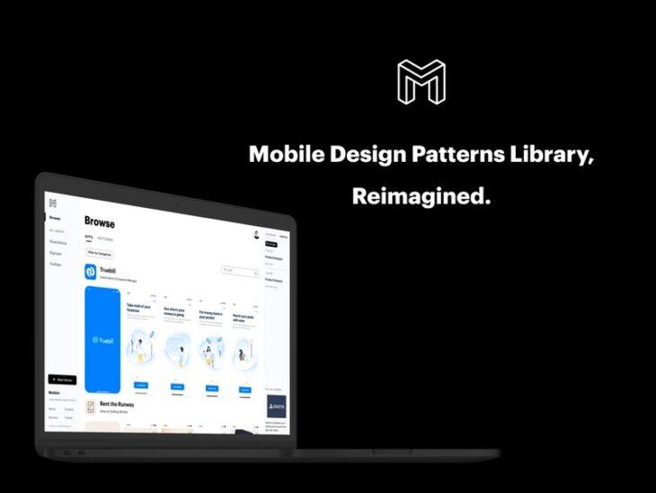 picture of A Platform Specializing on Mobile Design Patterns: Mobbin Reviewed