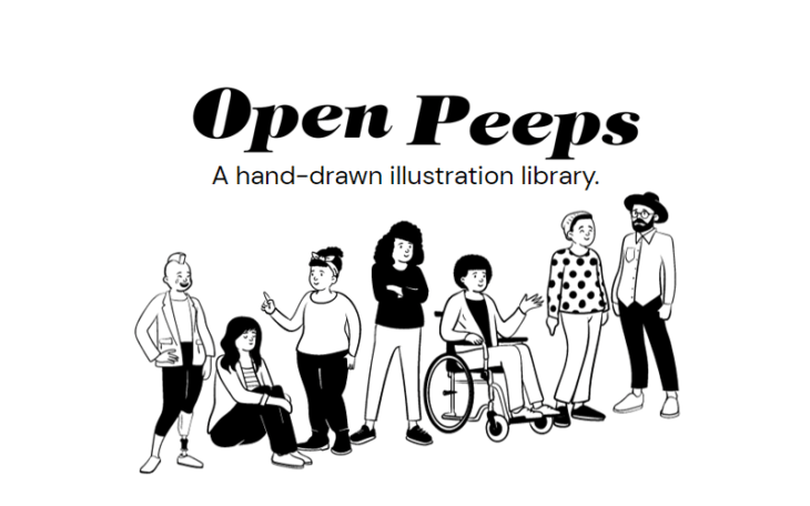 picture of Drawing Illustrations Made Easy with Open Peeps