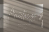Last preview image of Anastasya Monoline Script