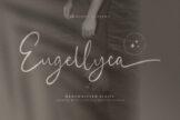 Last preview image of Eugellyca Handwritten Script
