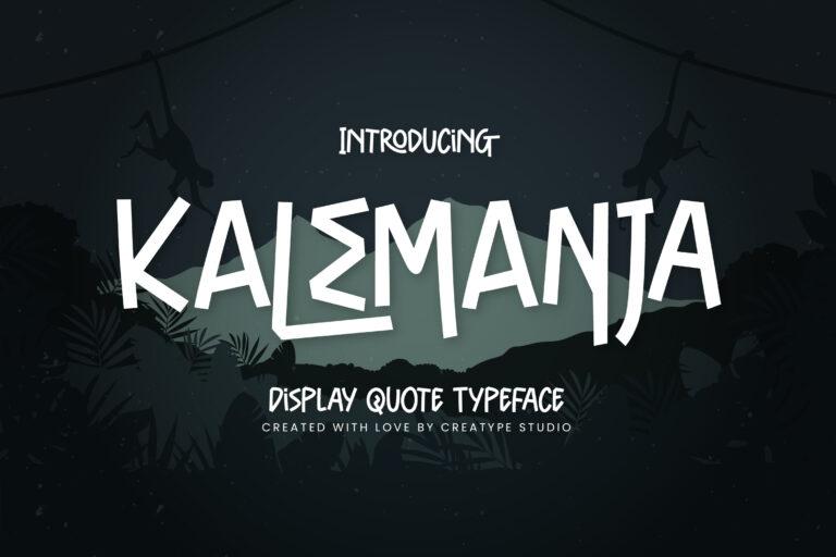 Preview image of Kalemanja Display Quote