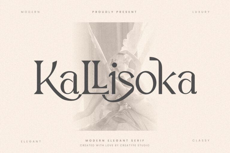 Preview image of Kallisoka Modern Elegant Serif