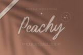 Last preview image of Peachy Handwritten Script