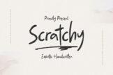 Last preview image of Scratchy Erratic Handwritten
