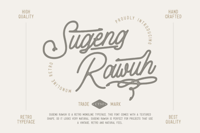 Preview image of Sugeng Rawuh Monoline Retro