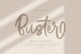 Last preview image of Buster Brush Signature