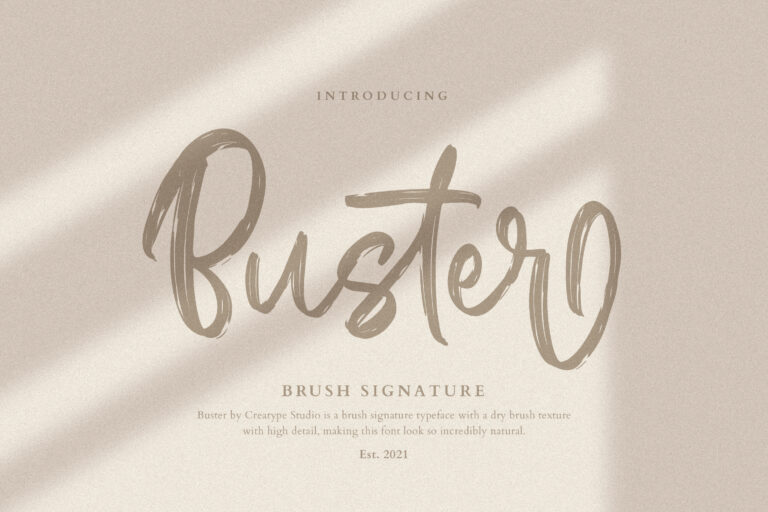 Preview image of Buster Brush Signature