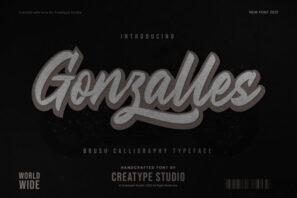 Gonzalles Brush Calligraphy