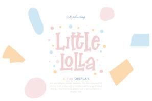 Little Lolla Fun Display