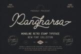 Last preview image of Pangharsa Monoline Retro Stamp