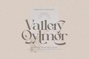 Vallery Qylmor Modern Elegant Serif