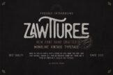 Last preview image of Zawturee Monoline Vintage