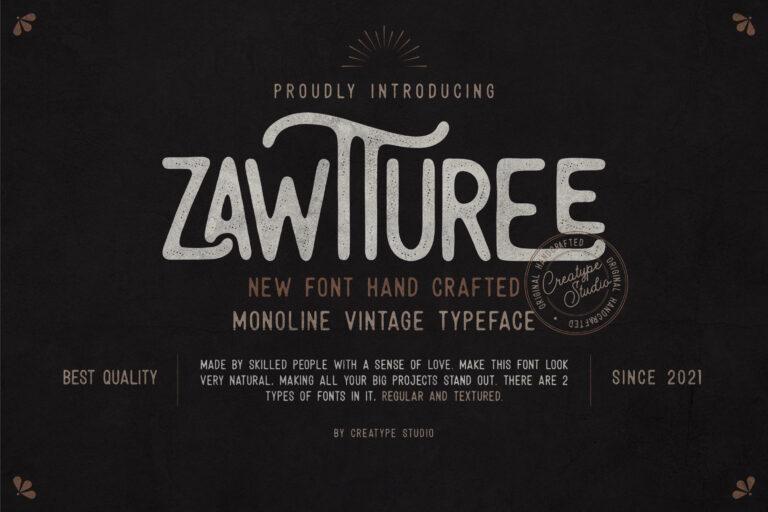 Preview image of Zawturee Monoline Vintage