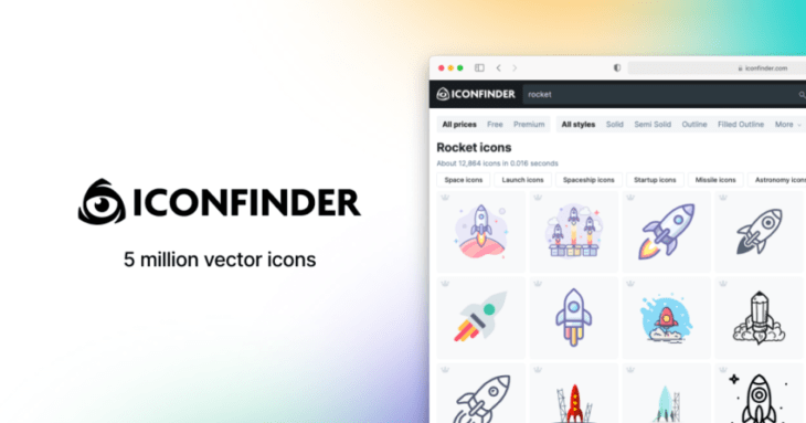 picture of Iconfinder: The Google for Millions of High-Quality Icons to Easily Use