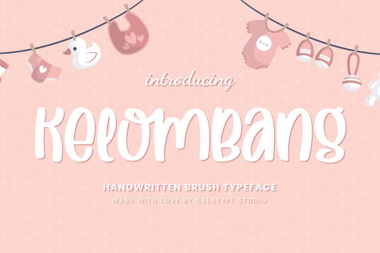 Preview image of Kelombang Handwritten Brush