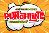 Last preview image of Punchline Poster Display