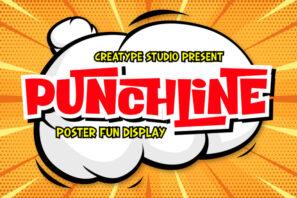 Punchline Poster Display