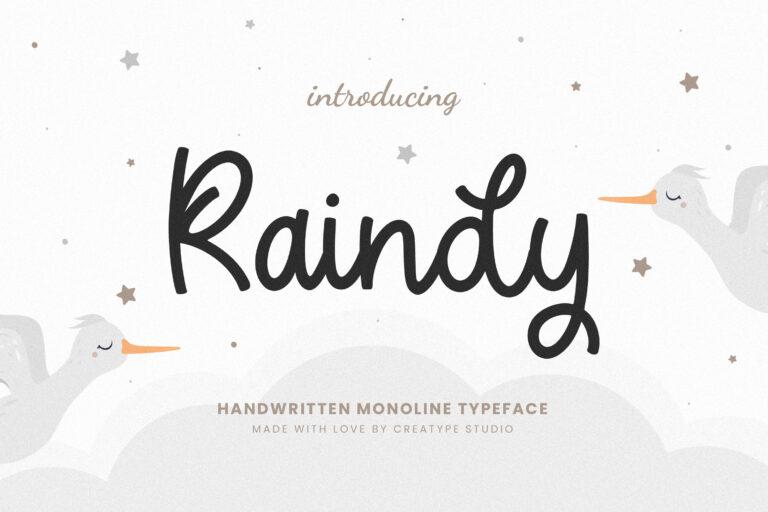 Preview image of Raindy Monoline