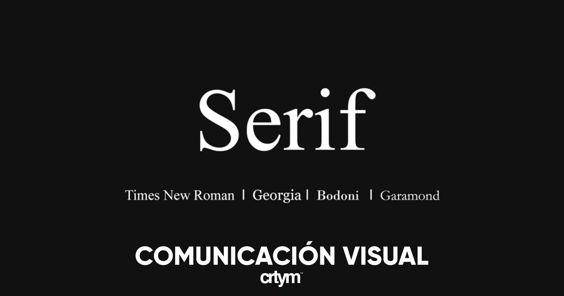 Elección y combinación de tipografías