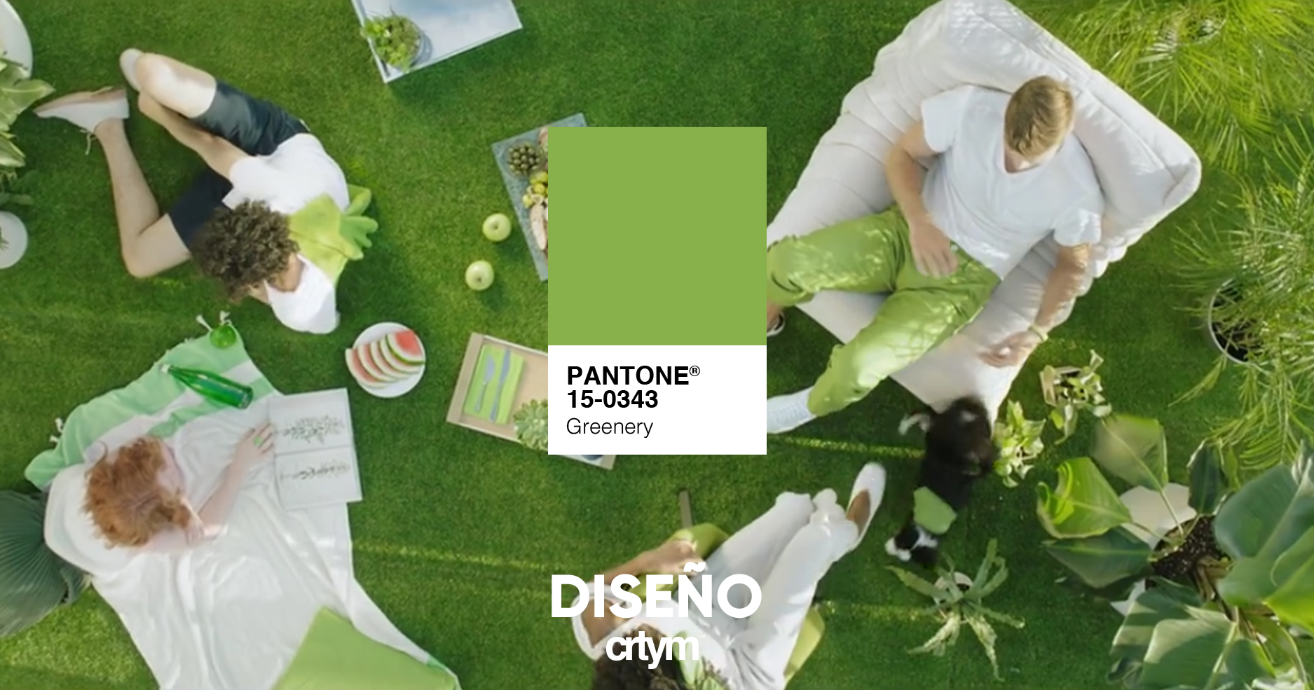 PANTONE: Greenery, color del año 2017