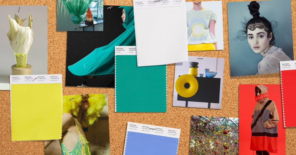 PANTONE Fashion Color Trend Report Spring 2018