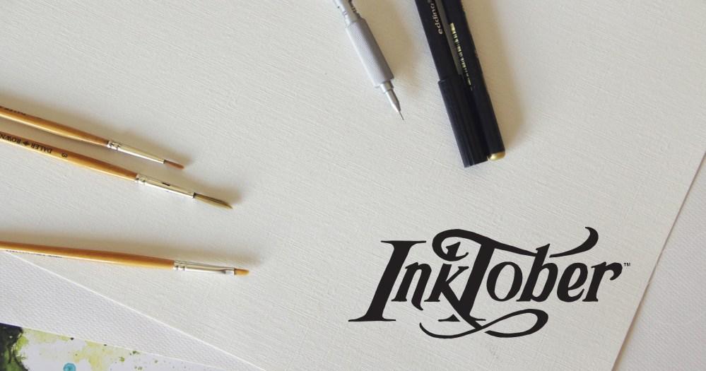Herramientas y formas de participar en el Inktober