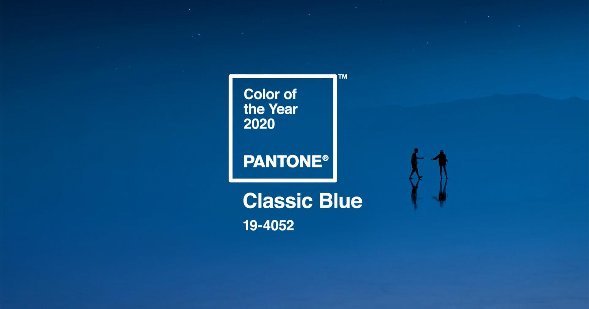 Classic Blue: color del año 2020