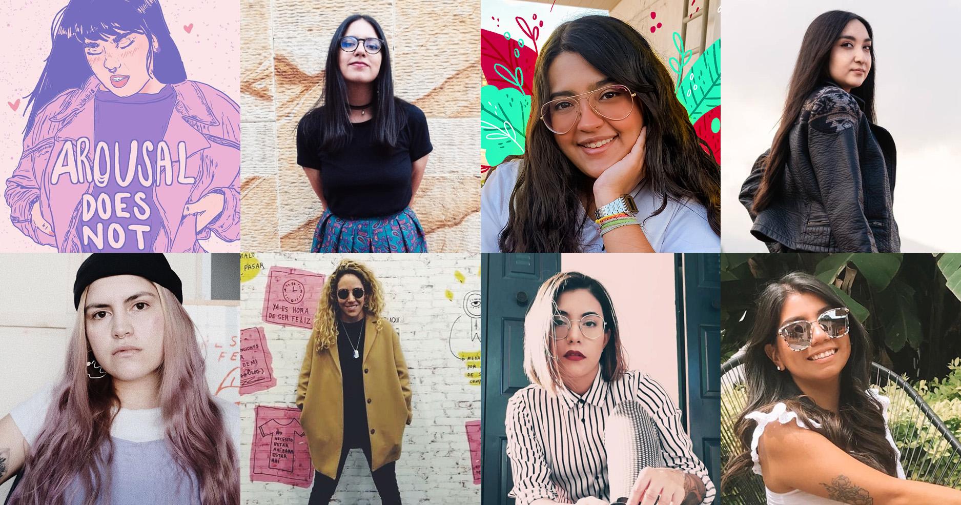 Mujeres creativas en este #8M