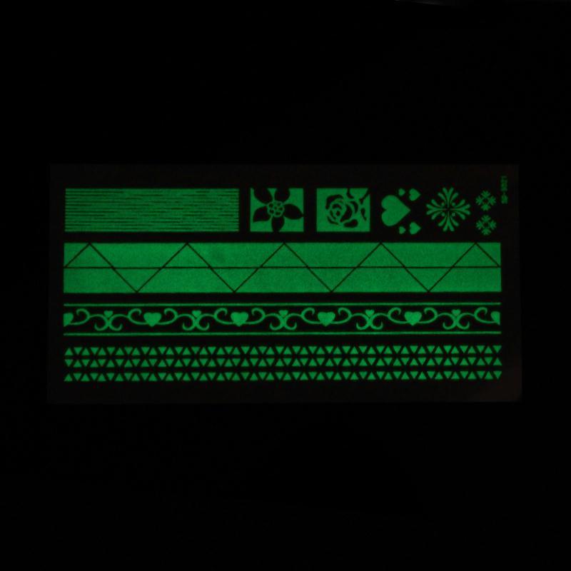 Tatouage Temporaire Imperméable Phosphorescent  Stickers