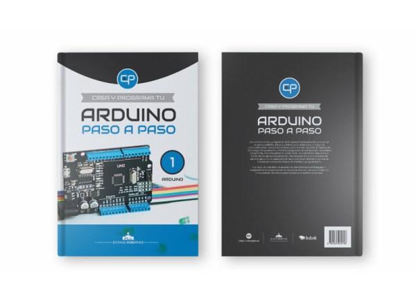 Portada y contraportada libro Arduino paso a paso