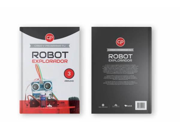 Portada y contraportada libro Robot explorador