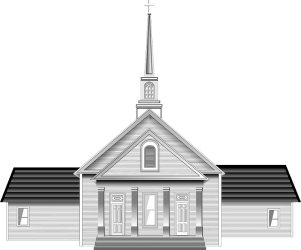 Church Black and White clipart Free download transparent PNG Creazilla