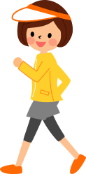 Woman is Walking for Exercise clipart Free download transparent PNG Creazilla