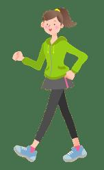 Girl Is Walking clipart Free download transparent PNG Creazilla